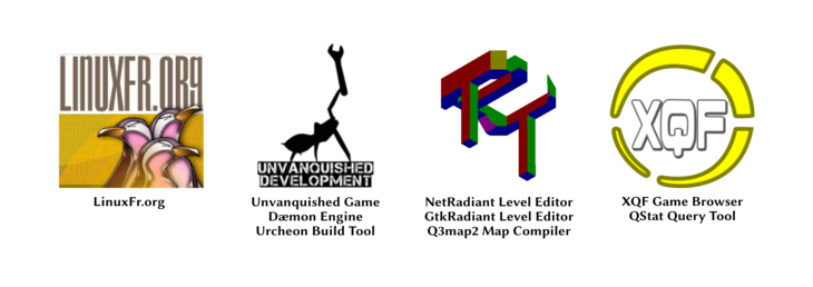 bannière logos